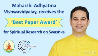Maharshi Adhyatma Vishwavidyalay receives the 'Best Paper Award'