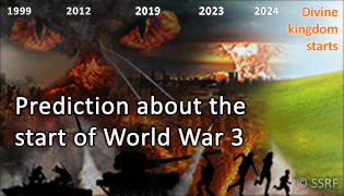 Prediction about the start of World War 3, the events which precede it and events which will follow