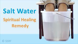 Salt Water Spiritual Healing Remedy