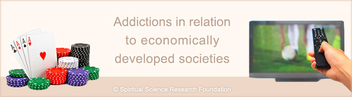 Addictions in economically developed societies