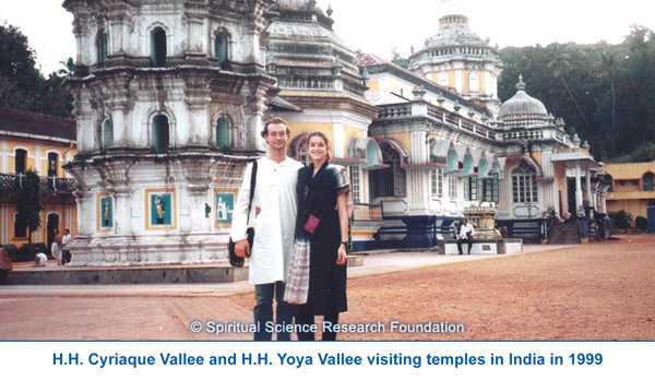 Visiting temples