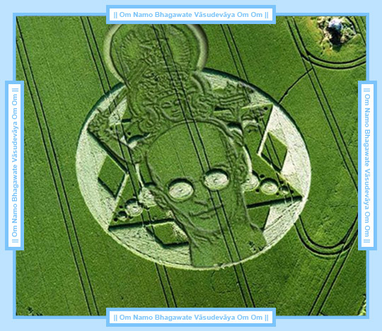 Crop circles made by negative entities