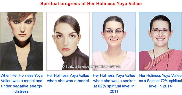 Spiritual progress of Her Holiness Yoya Vallee