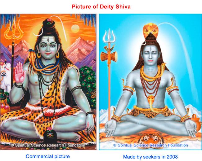 Sri Shiva commercial vs seekers depiction