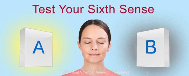 sixth sense test