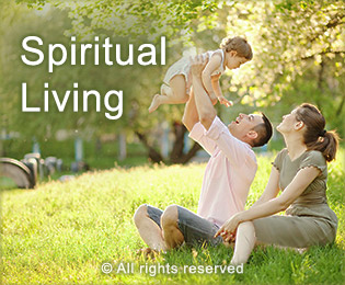 Spiritual living cleans home on subtle level