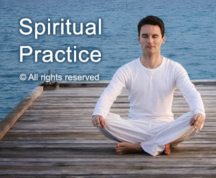 Spiritual practice cleans home on subtle level