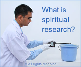 Evil eye and spiritual research