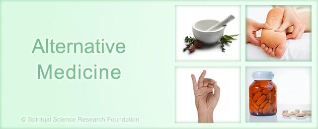 Alternative medicine landing