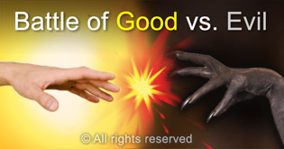 Battle of good vs evil is issue that influence us all globally