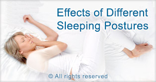 sleeping positions for better sleep