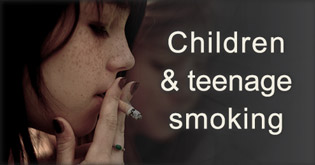 Children and teenage smoking