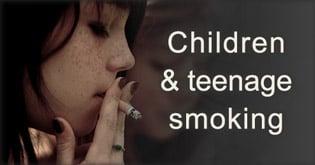 Children and teenage smoking