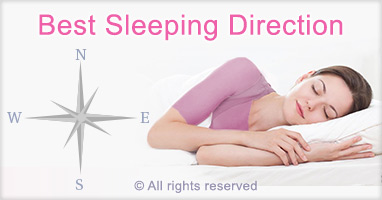 Best sleeping direction for better sleep