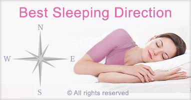 Best sleeping direction for better sleep