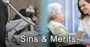 Sins and Merits related to social issues
