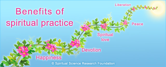 Benefits of Spiritual Practice landing
