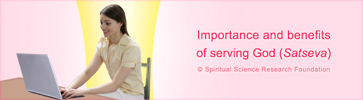benefits of serving god