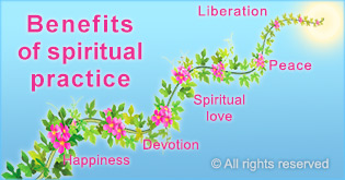 spiritual practice increases positive vibrations in home