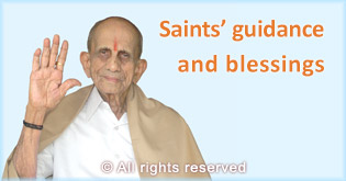 Saints' guidance and blessings