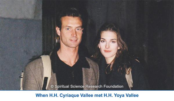H.H. Cyriaque meets H.H. Yoya