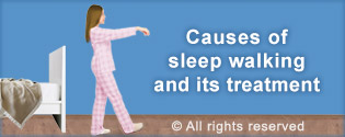 Did you know that the reason people sleepwalk is 95% due to spiritual causes?