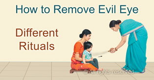 How to remove evil eye