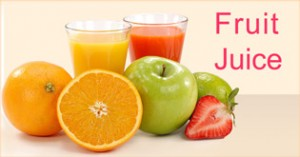 Spiritual health effect of drinking fruit juice