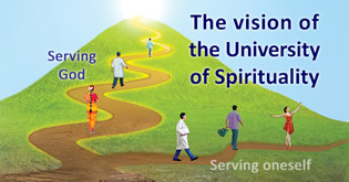 The vision of the University of Spirituality
