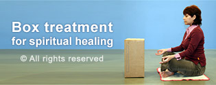 Box treatment for spiritual healing