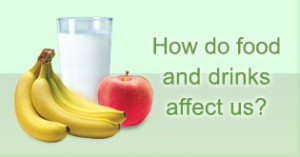 How do food and drinks affect us?