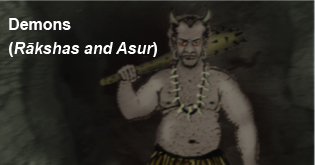 demons rakshas and asur