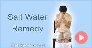 salt water remedy helps in removing evil eye