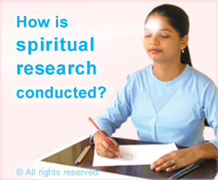 how is spiritual research conducted