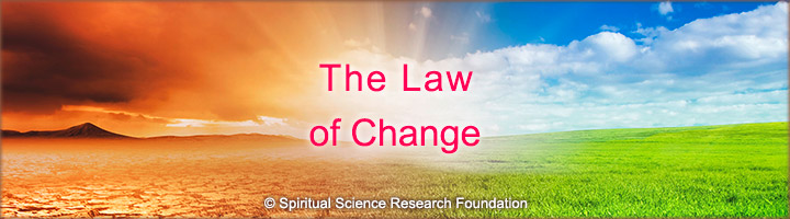 The Law of Change