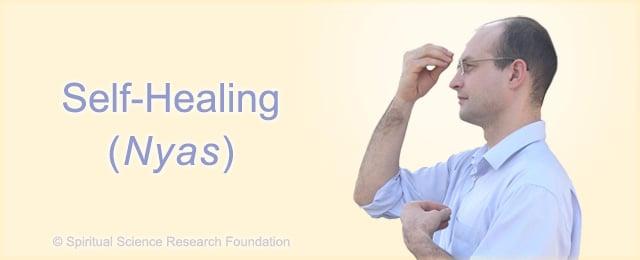 Self healing technique landing image