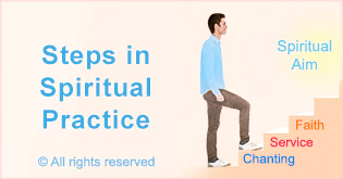 Steps in spiritual practice