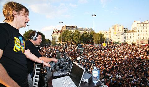 电子音乐游行 – 灵性效果